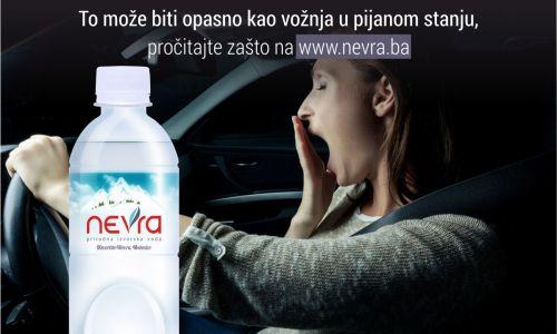 Vozite dehidrirani? To može biti opasno kao vožnja u pijanom stanju